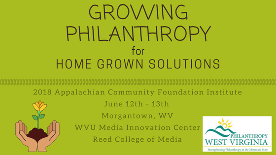 2018 Appalachian Community Foundation Institute