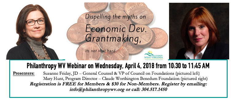 Dispelling the Myths of Economic Development Grantmaking, its not that hard!
