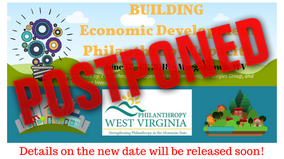 ~POSTPONED! Building Economic Development Philanthropy Capacity POSTPONED!~