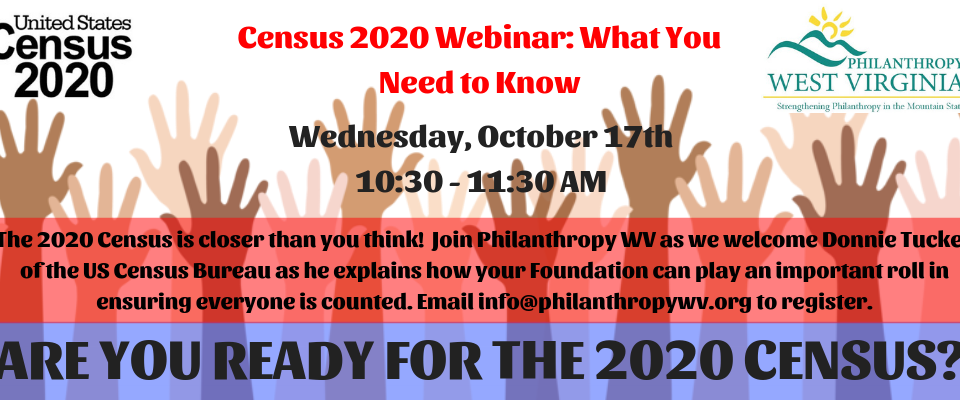 Census 2020 Webinar: What You Need to Know