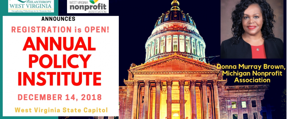 2018 Public Policy Institute in partnership with WVNPA