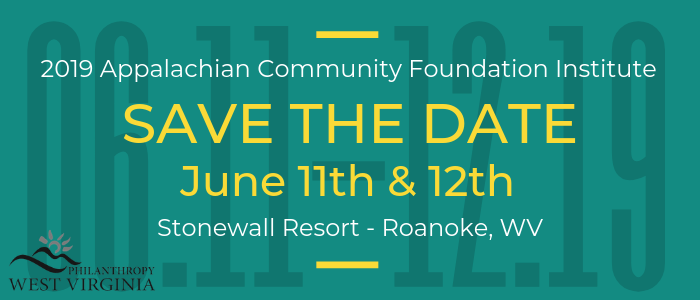 2019 Appalachian Community Foundation Institute