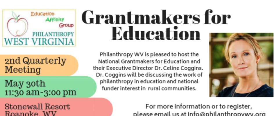 2nd Quarter Education Funders – Grantmakers for Education Visit