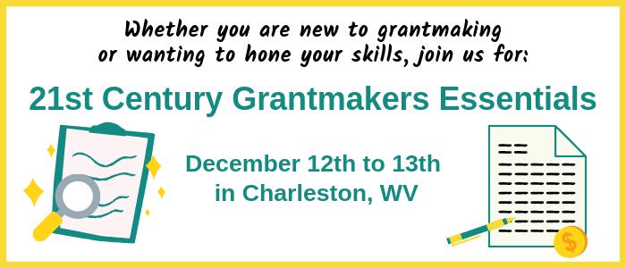 21st Century Grantmakers Essentials Program