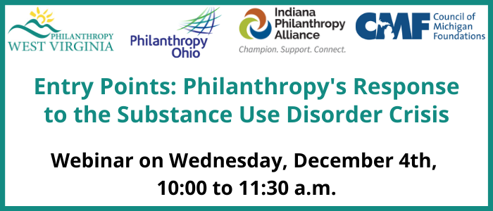 4th Session – Entry Points: Philanthropy's Response to SUD