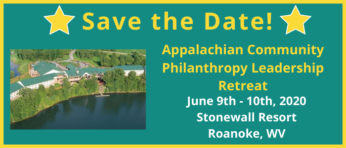 2020 Appalachian Community Philanthropy Leadership Retreat