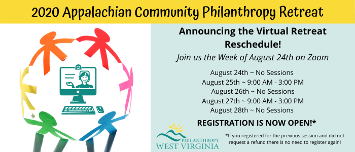 2020 Virtual Appalachian Community Philanthropy Retreat