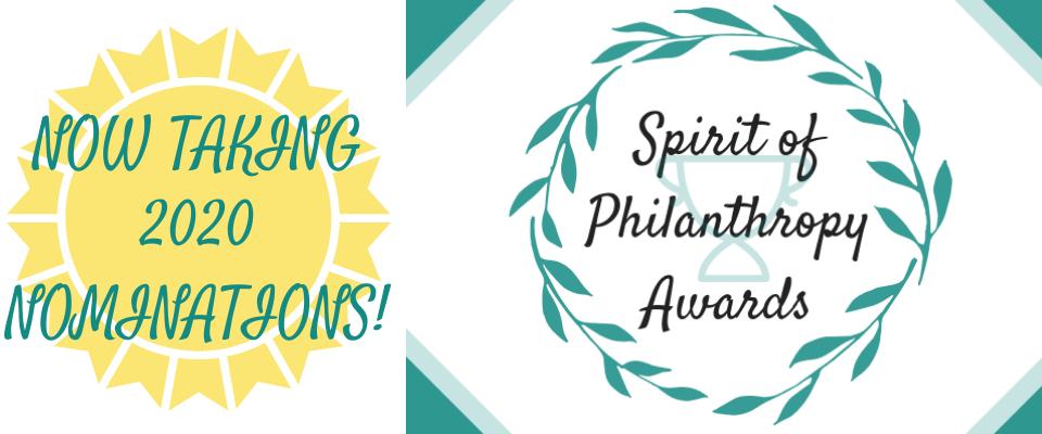 2020 Spirit of Philanthropy Awards