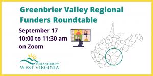 Greenbrier Valley Regional Funders Roundtable